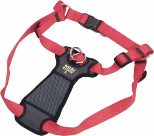 Coastal Pet Walk Right Padded Front Dog Harness Red