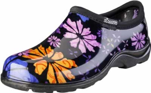 Sloggers Womens Flower Power Rain & Garden Shoes