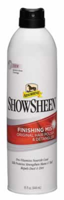 Absorbine Showsheen Finishing Mist, 15 Ounce