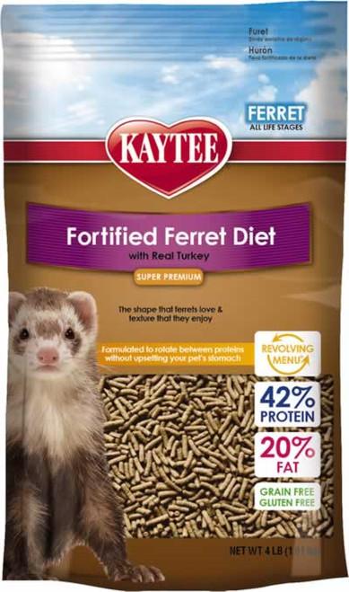 Kaytee Ferret Turkey Fortified Diet 4 Pounds