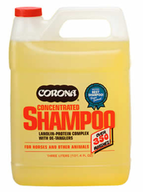 Corona Shampoo Concentrate for Horses, 3 Liter
