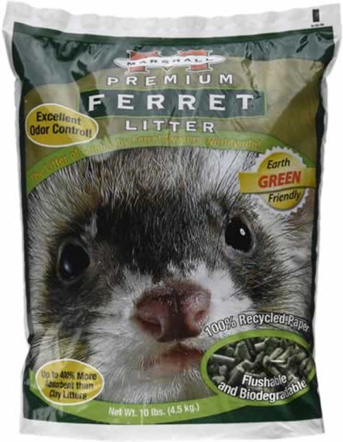 Marshall Premium Ferret Litter 10 Pounds
