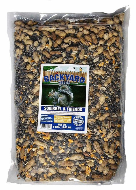 Backyard Seeds Squirrel & Friends Wildlife Mix