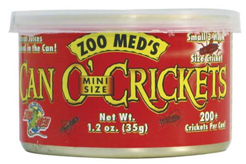 Zoo Med Can O'Crickets Mini Size, 1.2 Ounce