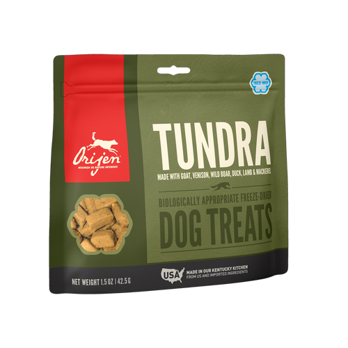 Orijen Tundra Freeze Dried Dog Treats 1.5 oz