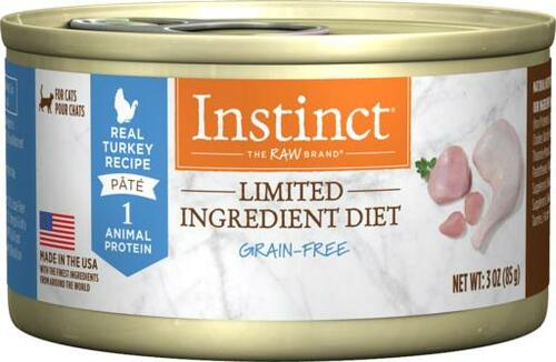 Nature's Variety Grain-Free Instinct Limited Ingredient Turkey Canned Cat Food