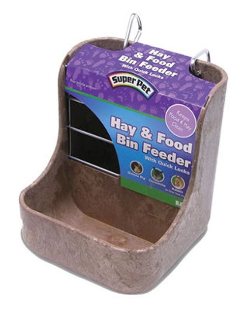 Super Pet Hay And Food Feeder