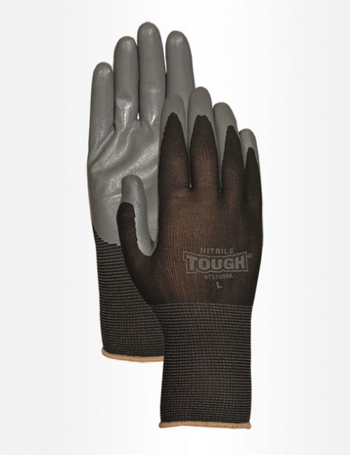 Bellingham Nitrile Tough Work Gloves, Medium