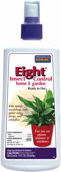 Bonide Eight Insect Control Garden & Home 12 Ounces
