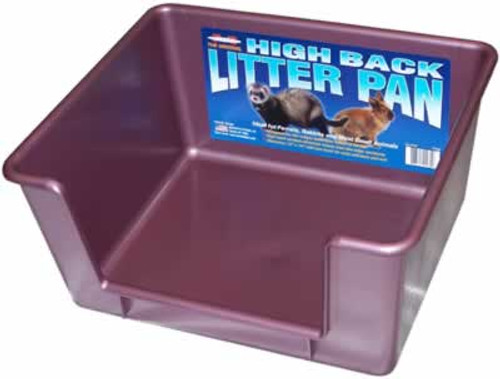 Marshall Ferret High Back Litter Pan