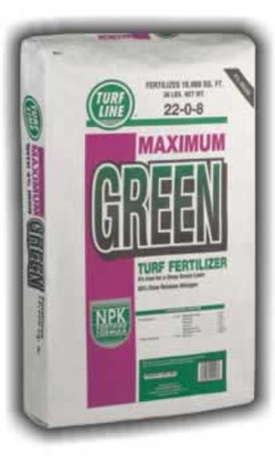 Turf Line Maximum Green Turf Fertilizer 22-0-8 10,000 Sq. Feet