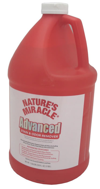 Natures Miracle Advanced Stain & Odor Remover Gallon