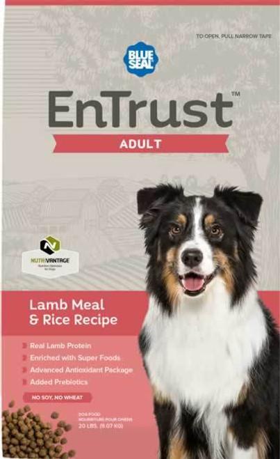 Blue Seal EnTrust Adult Lamb Meal & Rice Dog Food