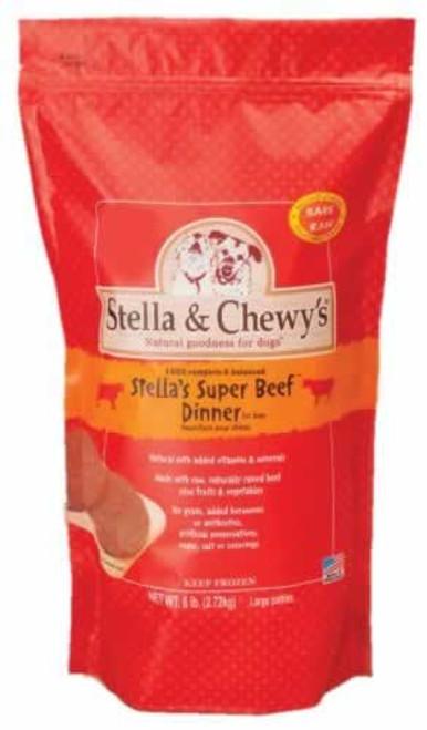 Stella & Chewys Super Beef Frozen Dinner, 6 Pounds