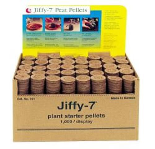 Jiffy-7 Plant Starter Peat Pellets