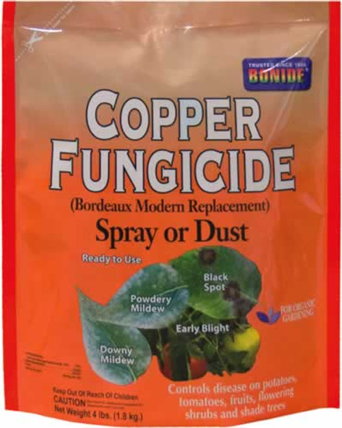 Bonide Copper Fungicide Dust Or Spray 4 Pounds
