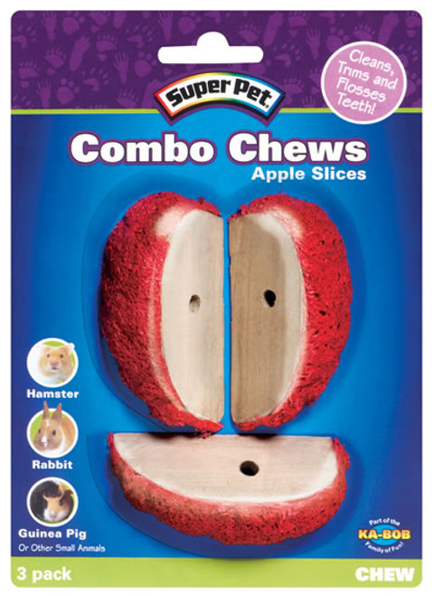 Combo Chew Apple Slice, 3 Pack