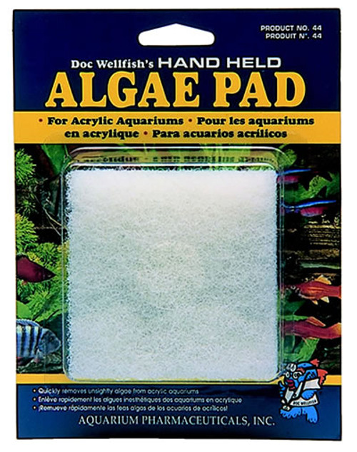 Algae Hand Pad For Acrylic Aquariums