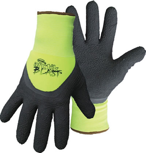 Boss Artice Blast HI-Vis Green Gloves