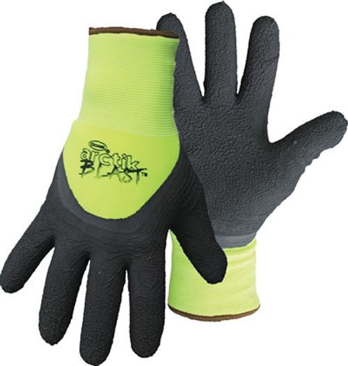 Boss Artice Blast HI-Vis Green Gloves