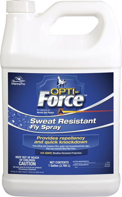 Opti Force Sweat Resistant Fly Spray