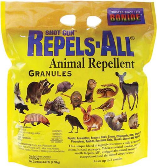 Bonide Shot Gun Repels All Animal Repellent Granules 6 Pounds