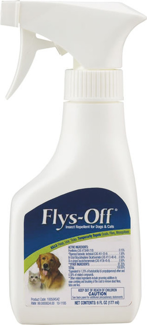 Flys Off Insect Repellent for Dogs and Cats