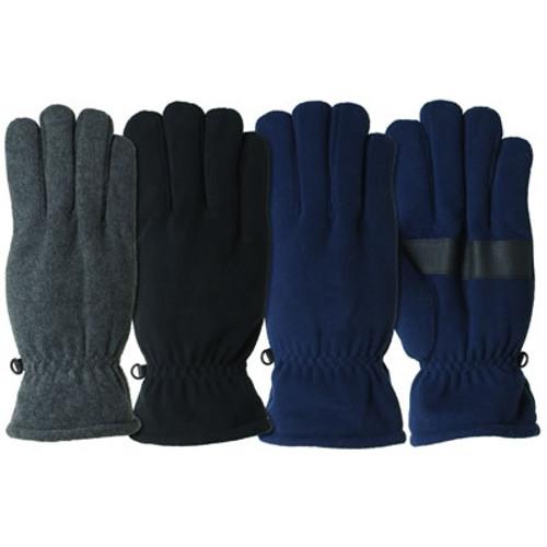 Huntworth Mens Fleece Lined Gloves