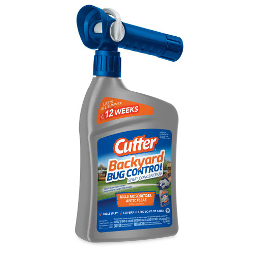 Cutter Backyard Bug Control Ready to Spray Concentrate 32 Ounces