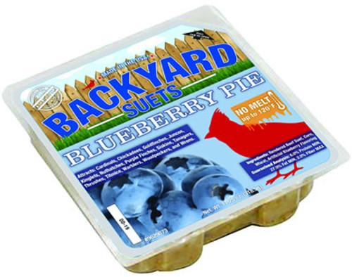 Backyard Seeds Blueberry Pie Suet Cake, 11.25 oz