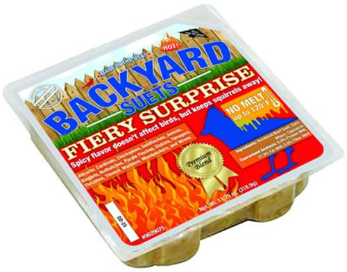Backyard Seeds Fiery Surprise Suet Cake