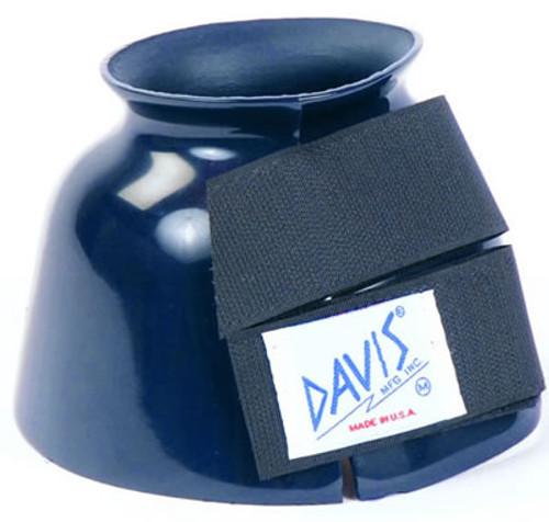 Davis Navy Bell Boots