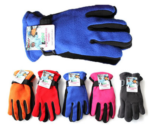 Youth Kids Polar Fleece Gloves