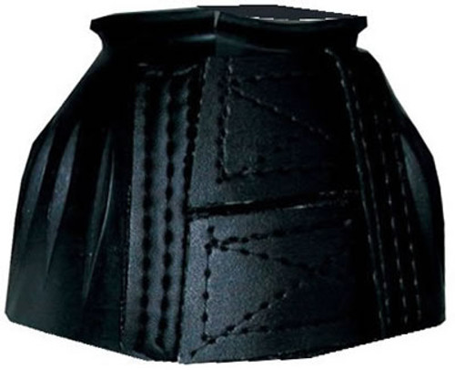 Intrepid International Ribbed Bell Boots with Double Velcro