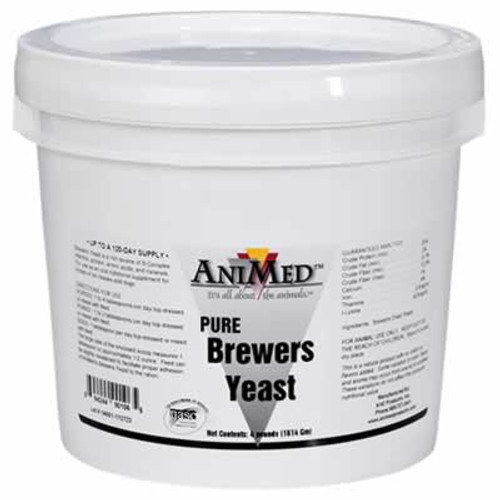 AniMed Pure Brewers Yeast 20 Pounds