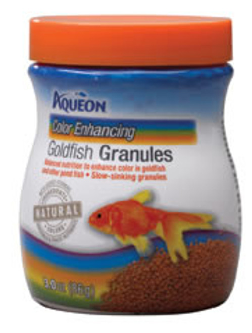 Aqueon Goldfish Color Granules, 3 Oz.