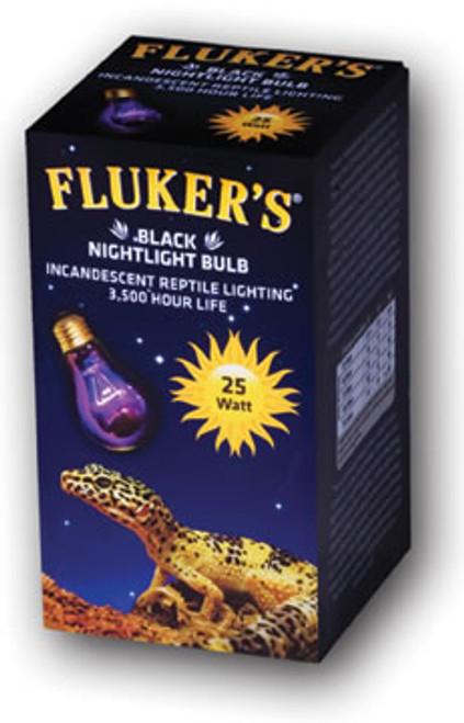 Black Nightlight Bulbs, 25 Watt, Black