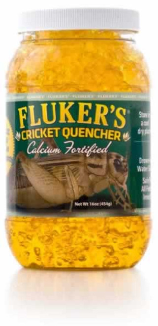 Flukers Cricket Quencher with Calcium 16 Ounces