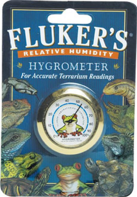 Fluker's Round Hygrometer