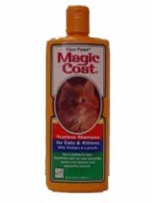 Four Paws Magic Coat Tearless Cat Shampoo, 12 Ounce