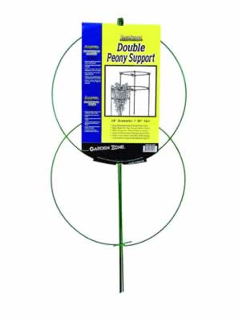 Garden Zone Double Peony Plant Support, 18 Inch