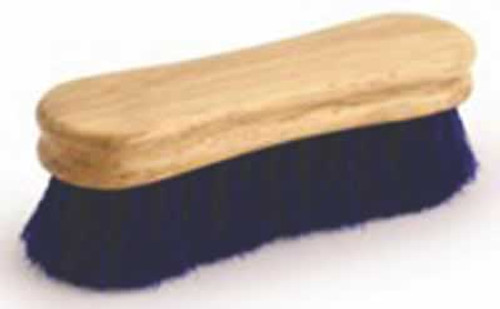 Legends Blue Horsehair Peanut-Shaped Face Brush