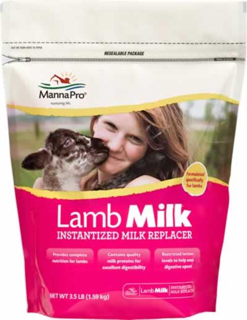 Manna Pro Lamb Instantized Milk Replacer 3.5 Pound