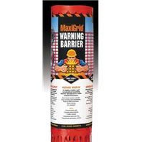 Maxigrid Warning Barrier/Orange Snow Fence 4 x 100