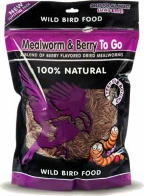 Mealworm & Berry To Go Bird Food 3.52 Ounce