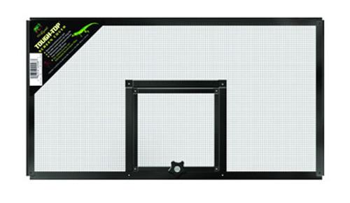 Metal Screen Cover With Door, 20 x 10 Inch