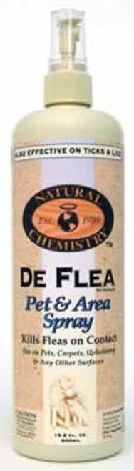 Natural Chemistry De Flea Pet & Area Spray, 16.9 Ounce