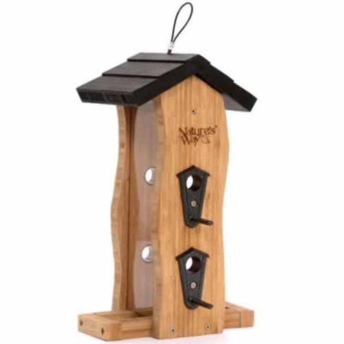 Nature's Way Bamboo Wave Bird Feeder