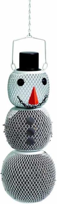 No/No Snowman Wild Bird Feeder