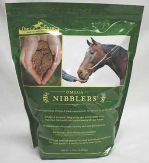 Omega Nibblers, 3.5 Pound